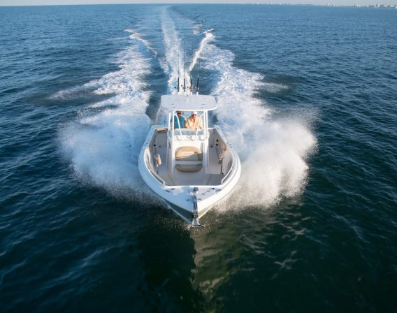 Exclusive VDS Hull Design - Smooth Ride
