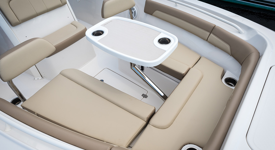 241 Center Console - Removable Bow Table Installed