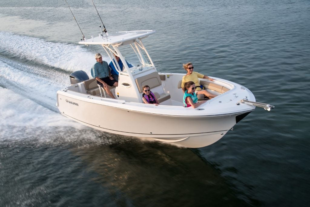 Center Console Boat for Fishing